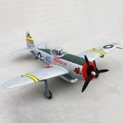 P-47D THUNDERBOLT 1220mm.6ch PNF –DYNAM Behuzható futómű-jelző,led