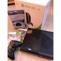 XBOX 360,250gb+2db game+HDMI