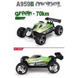 Autó, Vortex A959 B 1 :18 4WD 2.4G 70km/h RC