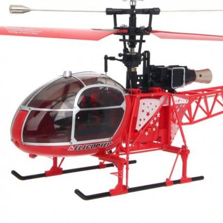 WLtoys v915 Lama helikopter 42 cm hossz, szimpla rotor, 4 csatorna