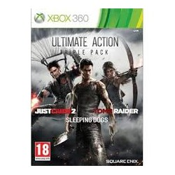 Ultimate Action Triple Pack: Just Cause 2 + Sleeping Dogs + Tomb Raider
