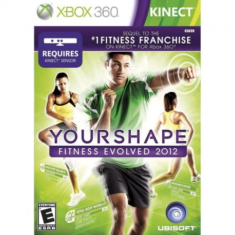 Kinect,Your Shape fitness Evolved 2012